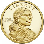 2017 Native American One Dollar Proof Coin Obverse