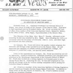 Colorado Professor Takes Oath as Assayer of Denver Mint, February 2, 1970.