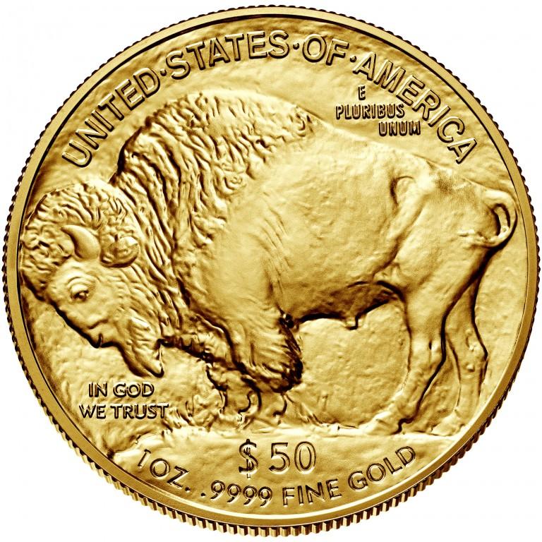 2017 American Buffalo Gold One Ounce Bullion Coin Reverse