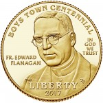 2017 Boys Town Commemorative Gold Proof Obverse