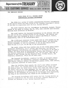 Historic Press Release, May 23, 1974. Full text is duplicated in the body of this page.