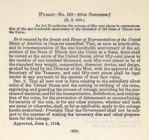 Historic legislation, June 1, 1918. Full text is duplicated in the body of this page.