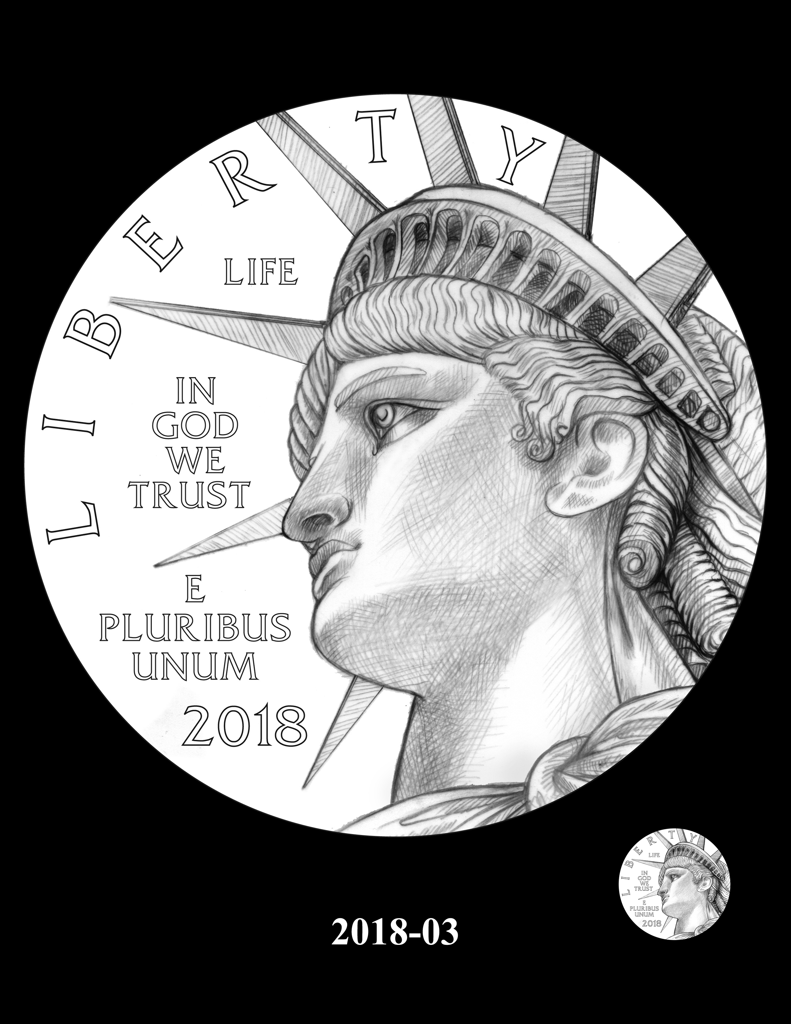 SET03-2018-03 - 2018 2019 and 2020 American Eagle Platinum Proof Program
