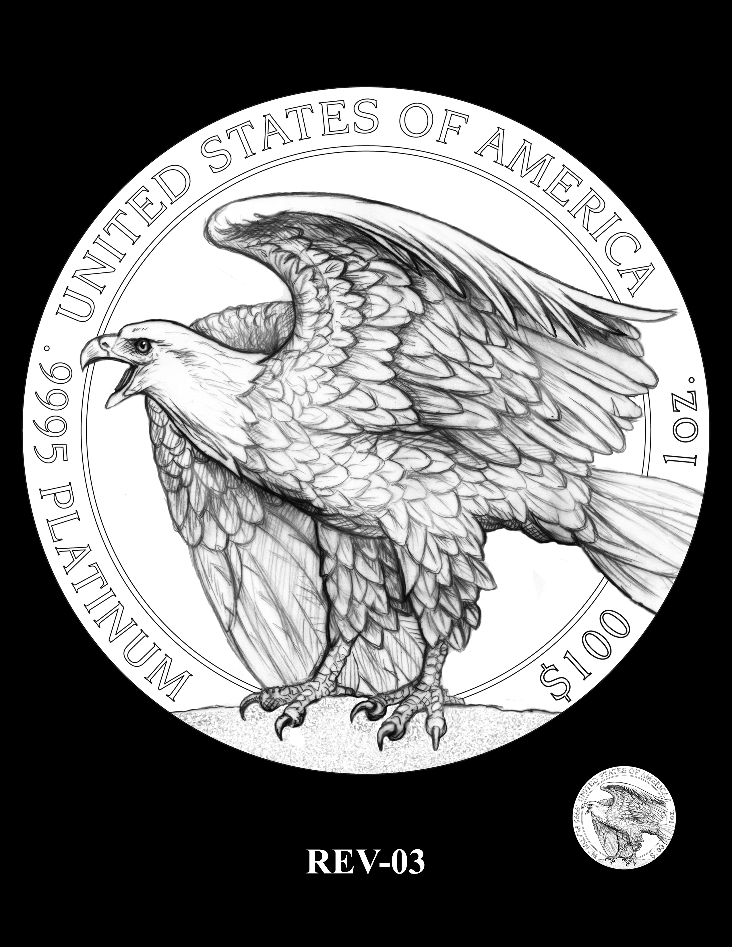 SET03-REV-03 - 2018 2019 and 2020 American Eagle Platinum Proof Program