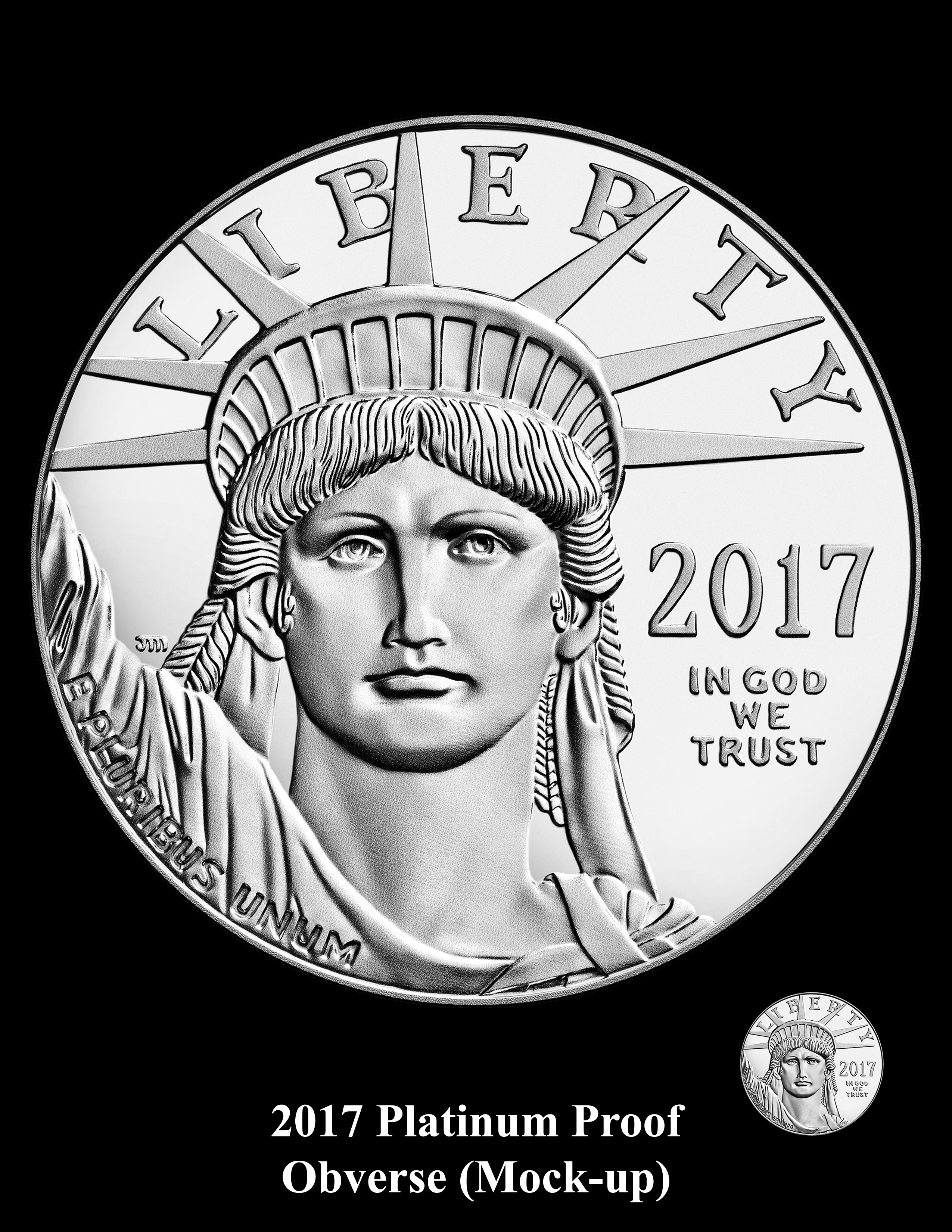 2017-AE-PlatinumPrf-O-Mock-Up-BK - 2017 20th Anniversary Platinum Proof Coin