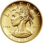 2017 American Liberty 225th Anniversary Gold Coin Obverse