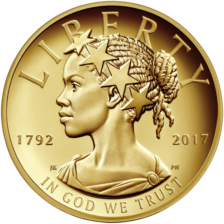 2017 American Liberty 225th Anniversary Gold Coin obverse sculpt