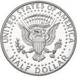 2017 Kennedy Half Dollar Proof Reverse