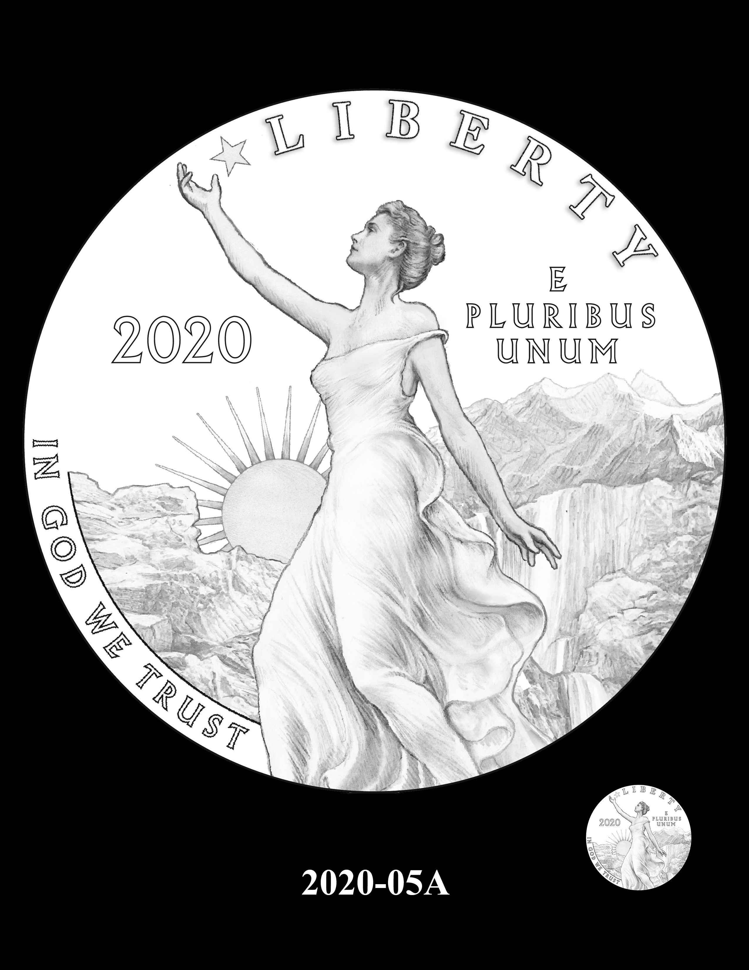 SET06-2020-05A - 2018 2019 and 2020 American Eagle Platinum Proof Program