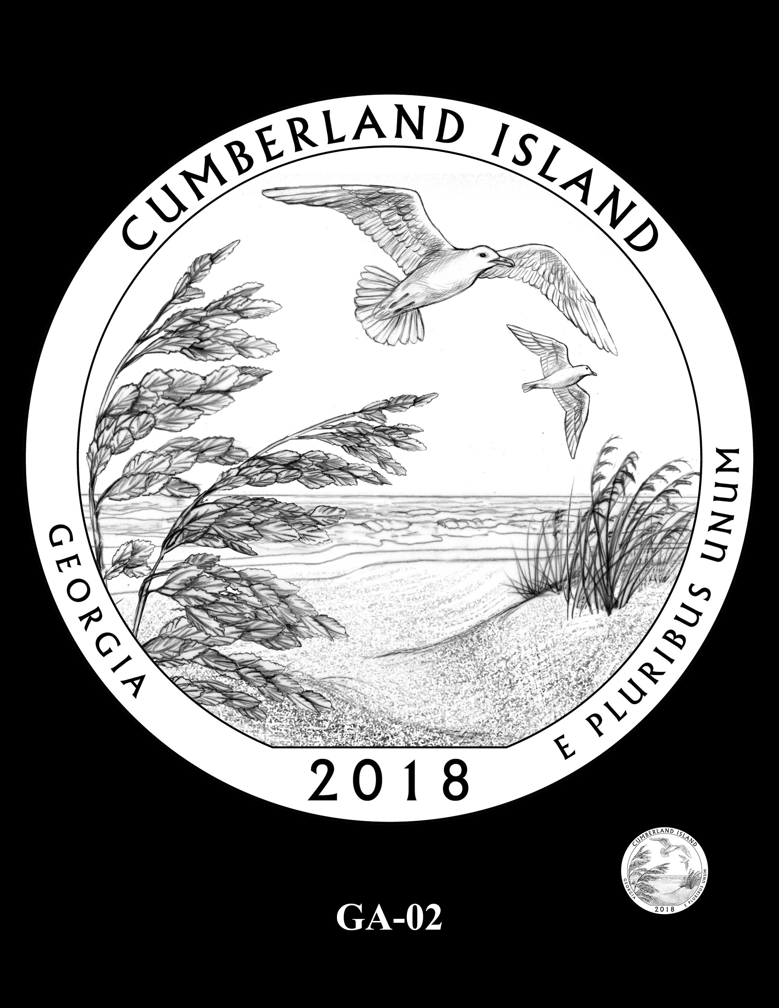 GA-02 -- 2018 America the Beautiful® Quarters Program