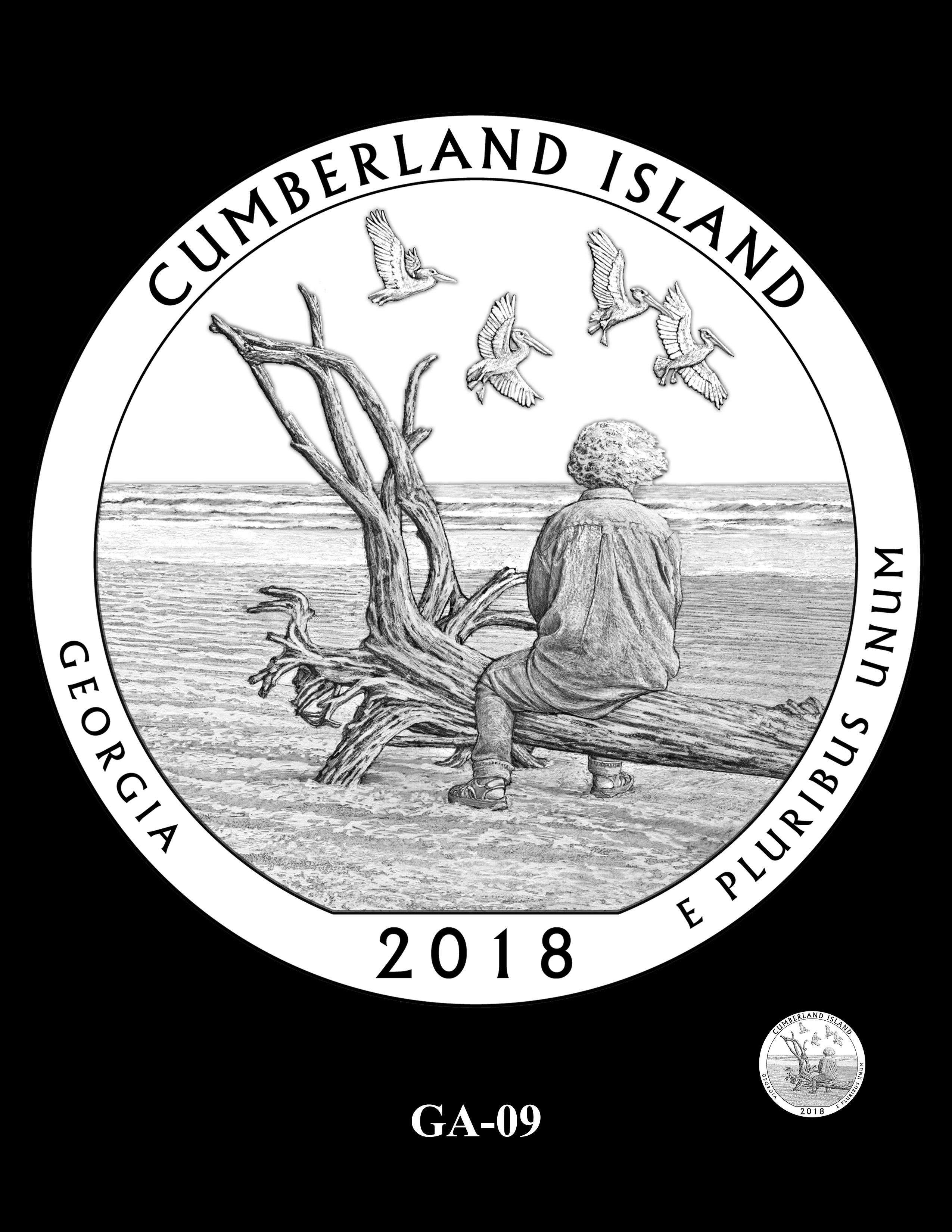 GA-09 -- 2018 America the Beautiful® Quarters Program