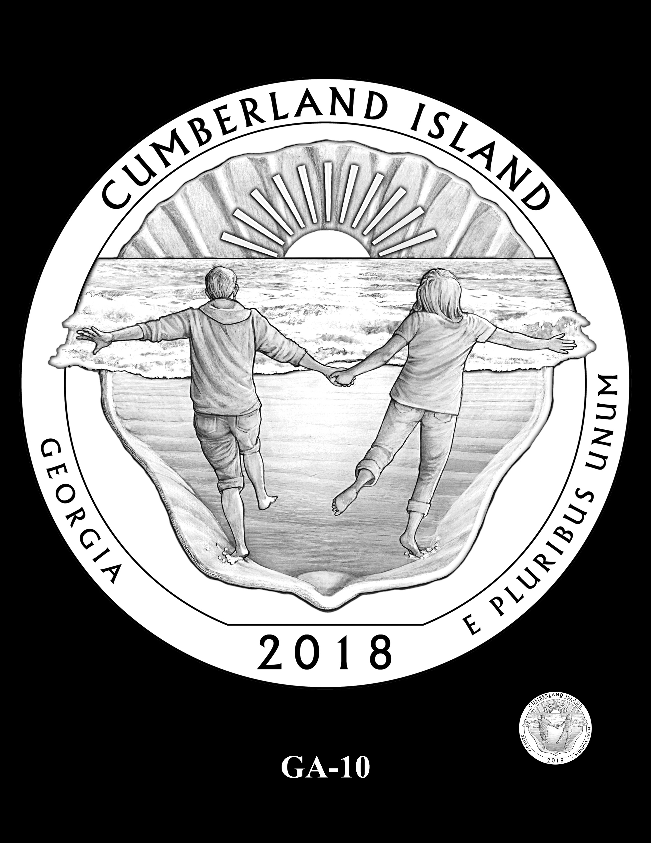 GA-10 -- 2018 America the Beautiful® Quarters Program