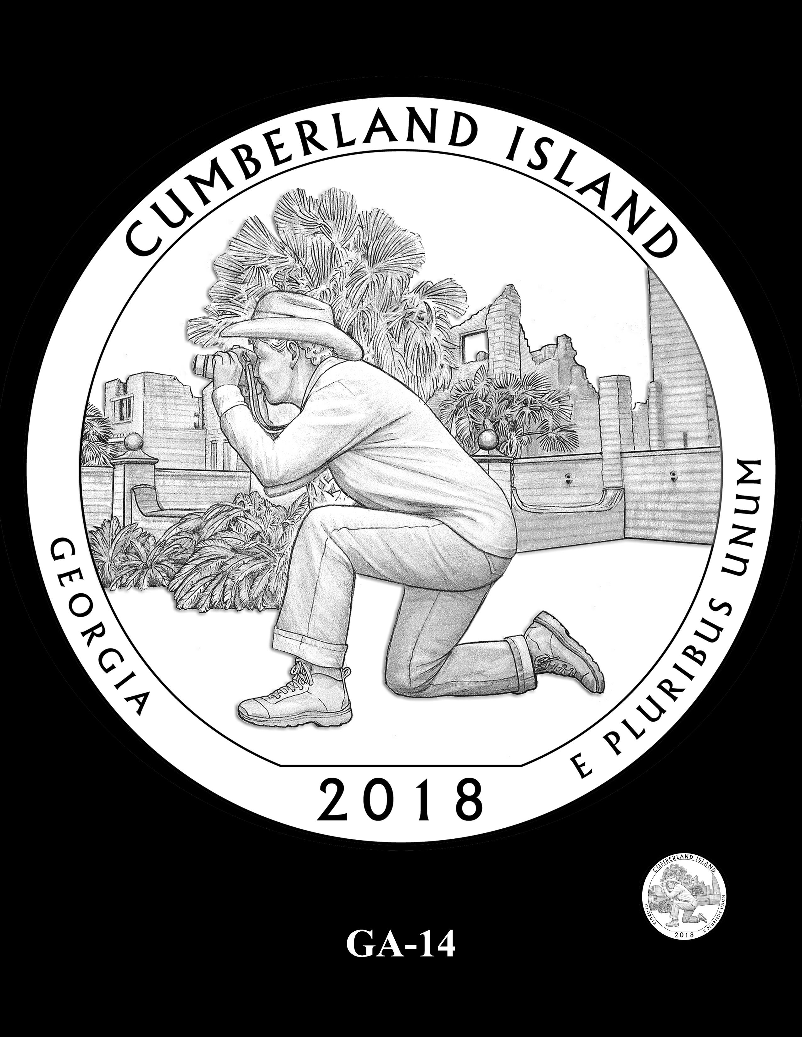 GA-14 -- 2018 America the Beautiful® Quarters Program