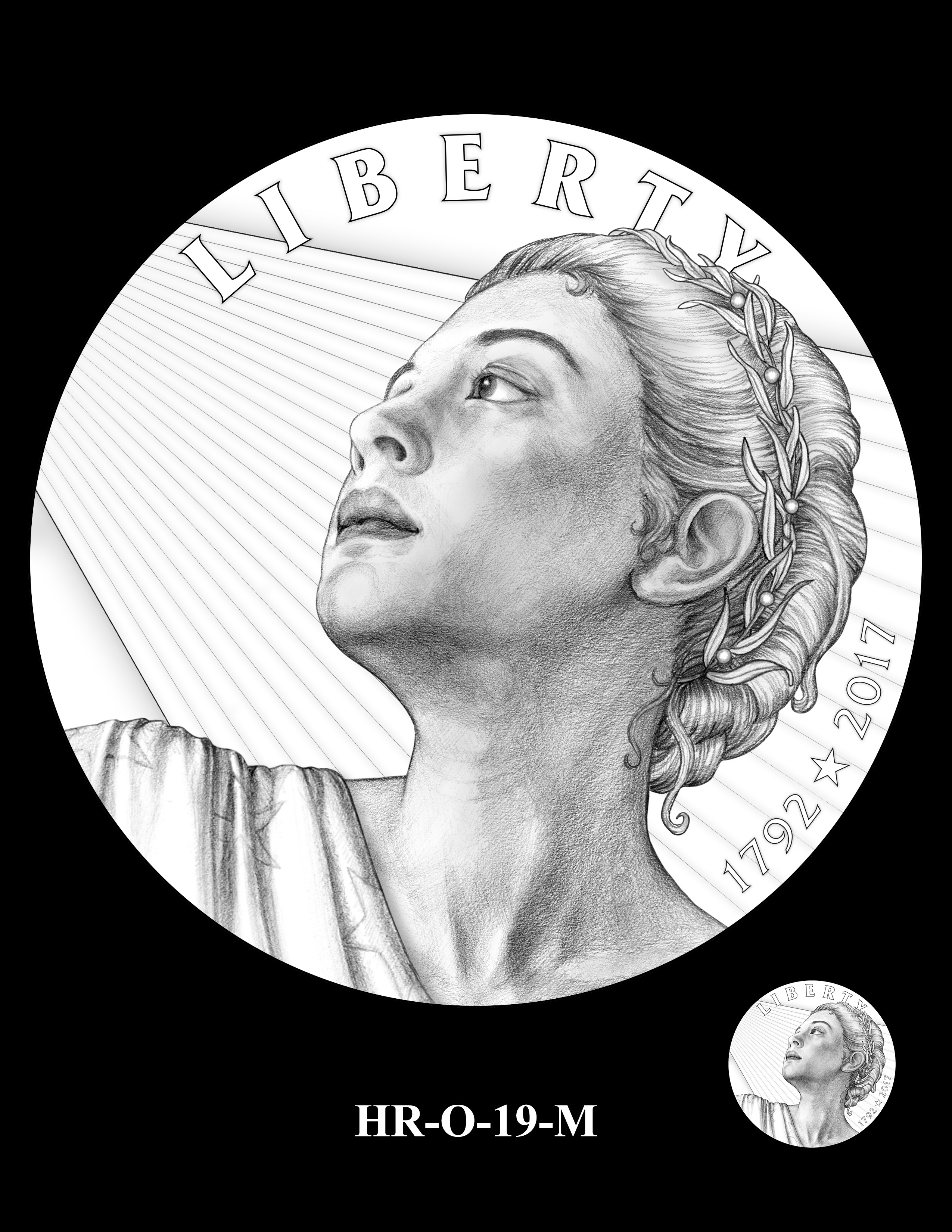 HR-O-19-M - 2017 American Liberty High Relief Gold Coin and Silver Medal Program
