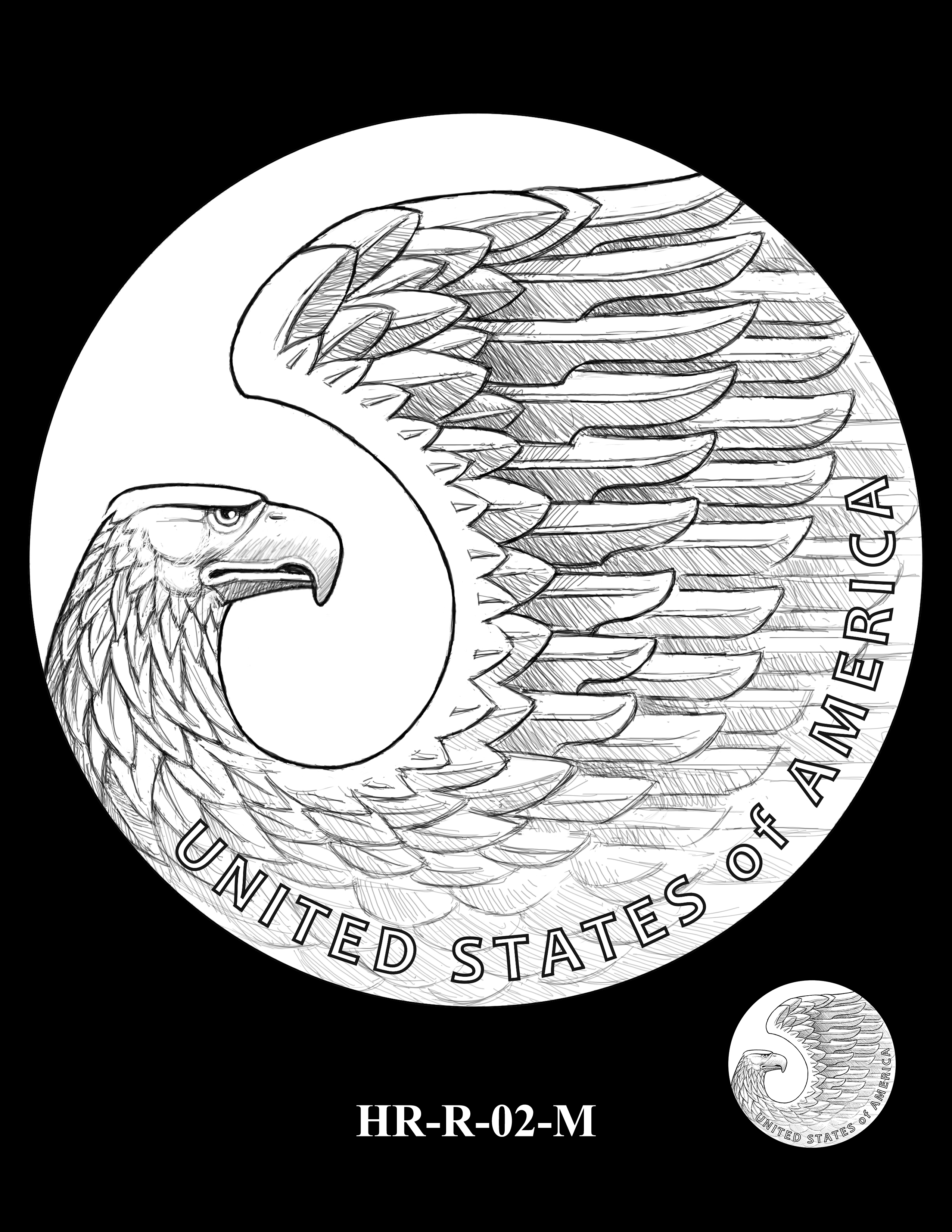 HR-R-02-M - 2017 American Liberty High Relief Gold Coin and Silver Medal Program