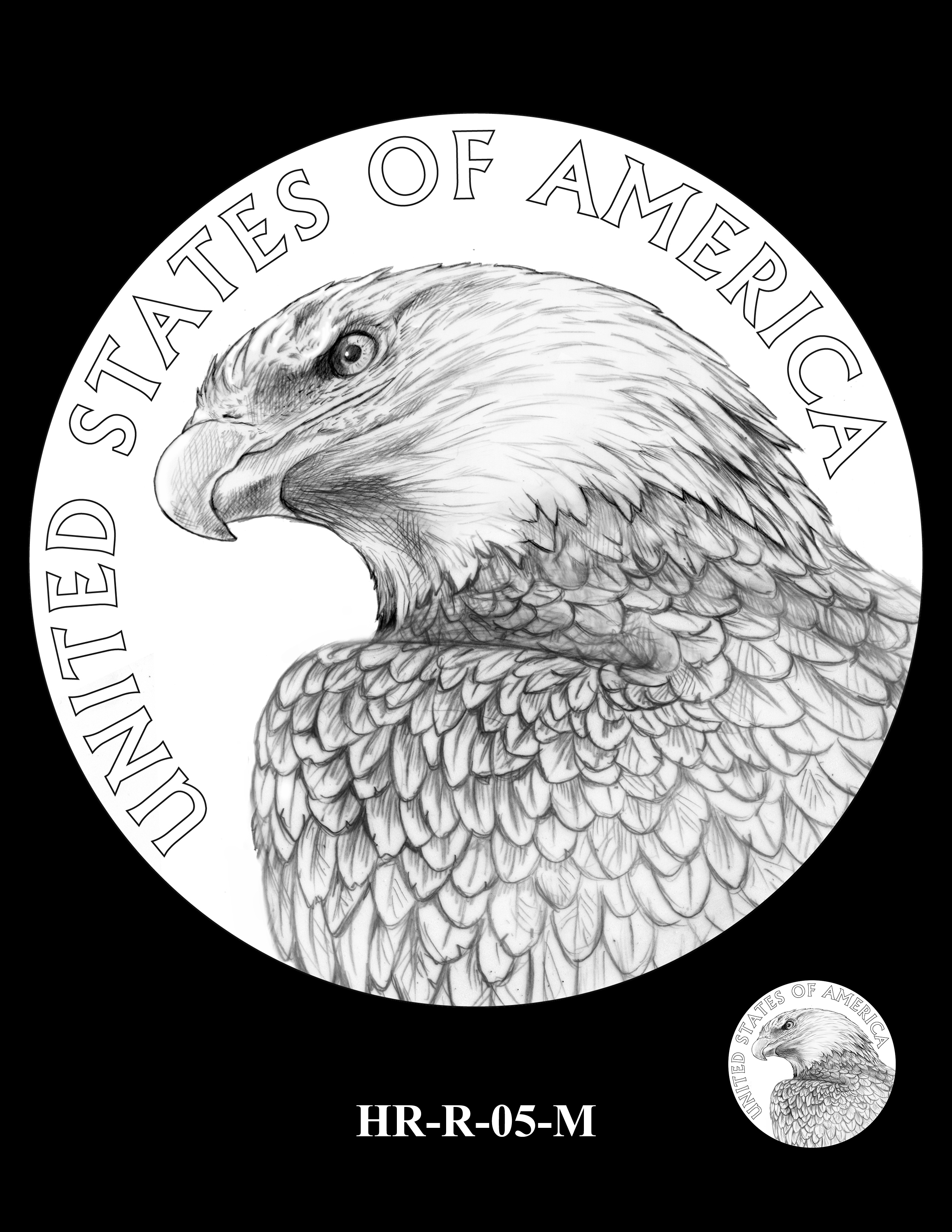 HR-R-05-M - 2017 American Liberty High Relief Gold Coin and Silver Medal Program