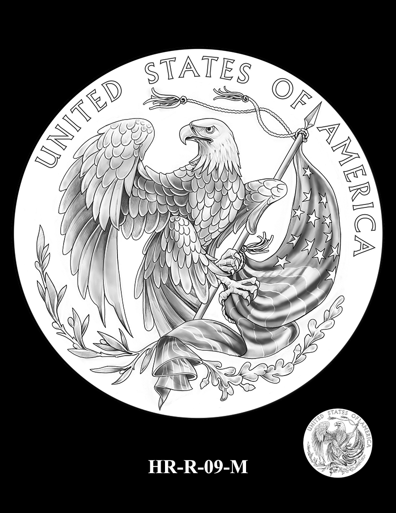 HR-R-09-M - 2017 American Liberty High Relief Gold Coin and Silver Medal Program