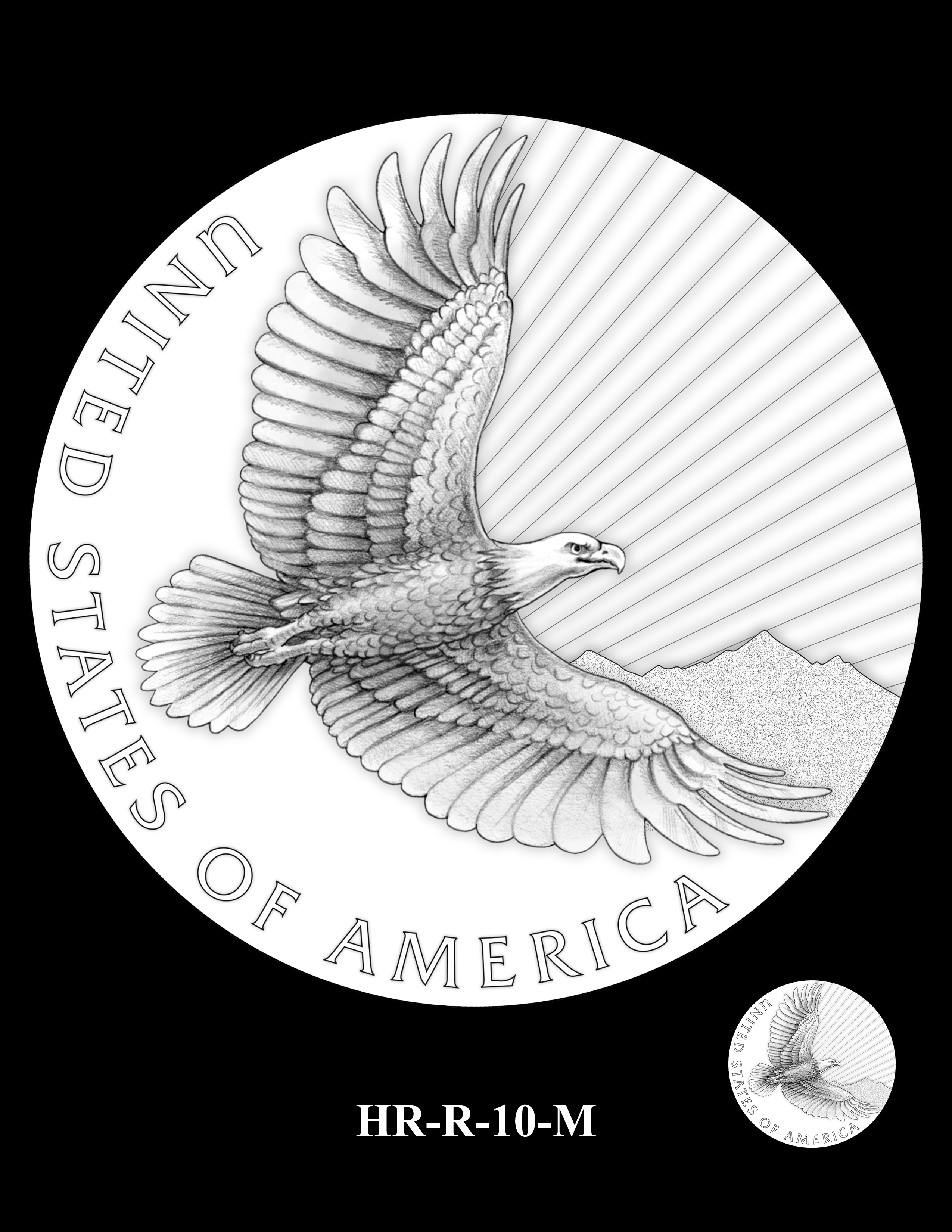HR-R-10-M - 2017 American Liberty High Relief Gold Coin and Silver Medal Program