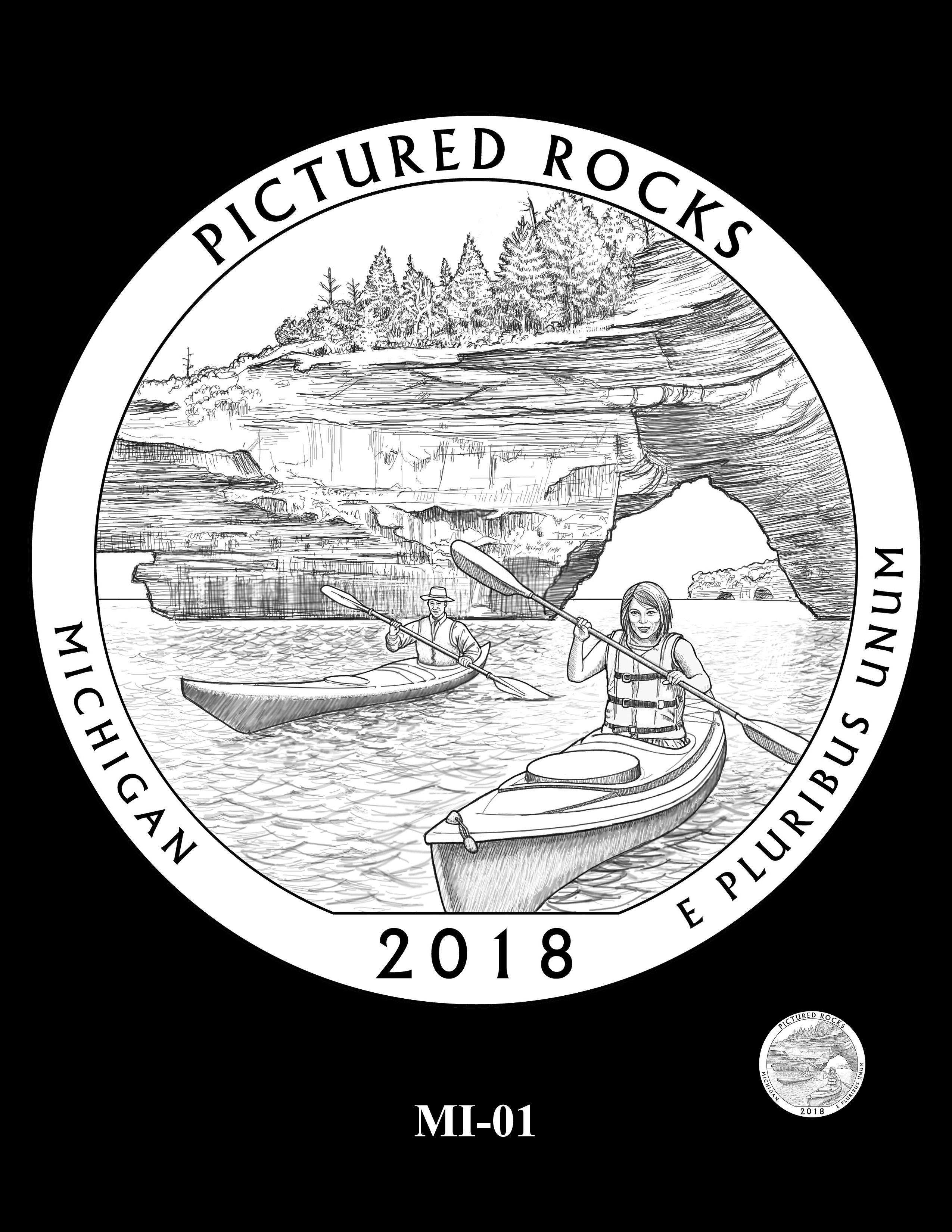 MI-01 -- 2018 America the Beautiful® Quarters Program