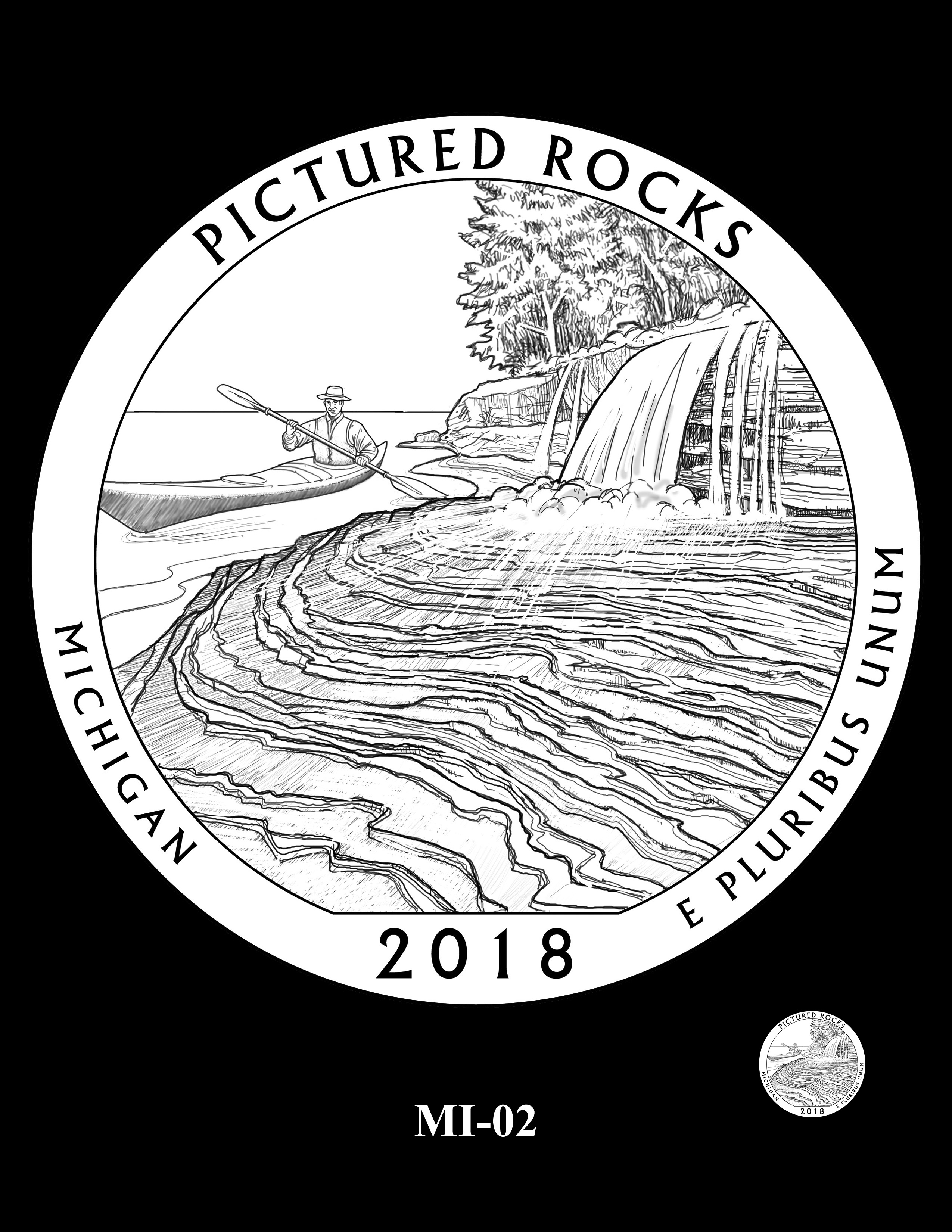 MI-02 -- 2018 America the Beautiful® Quarters Program