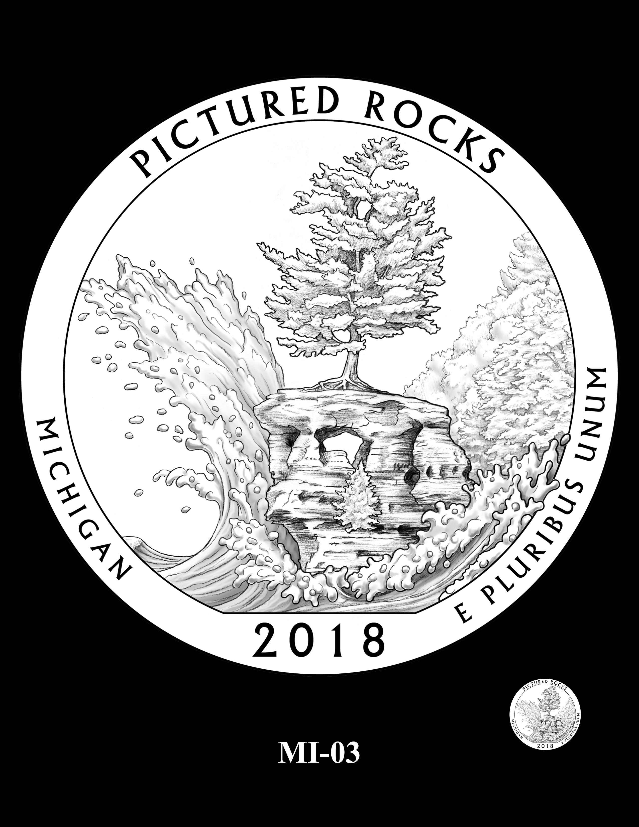 MI-03 -- 2018 America the Beautiful® Quarters Program