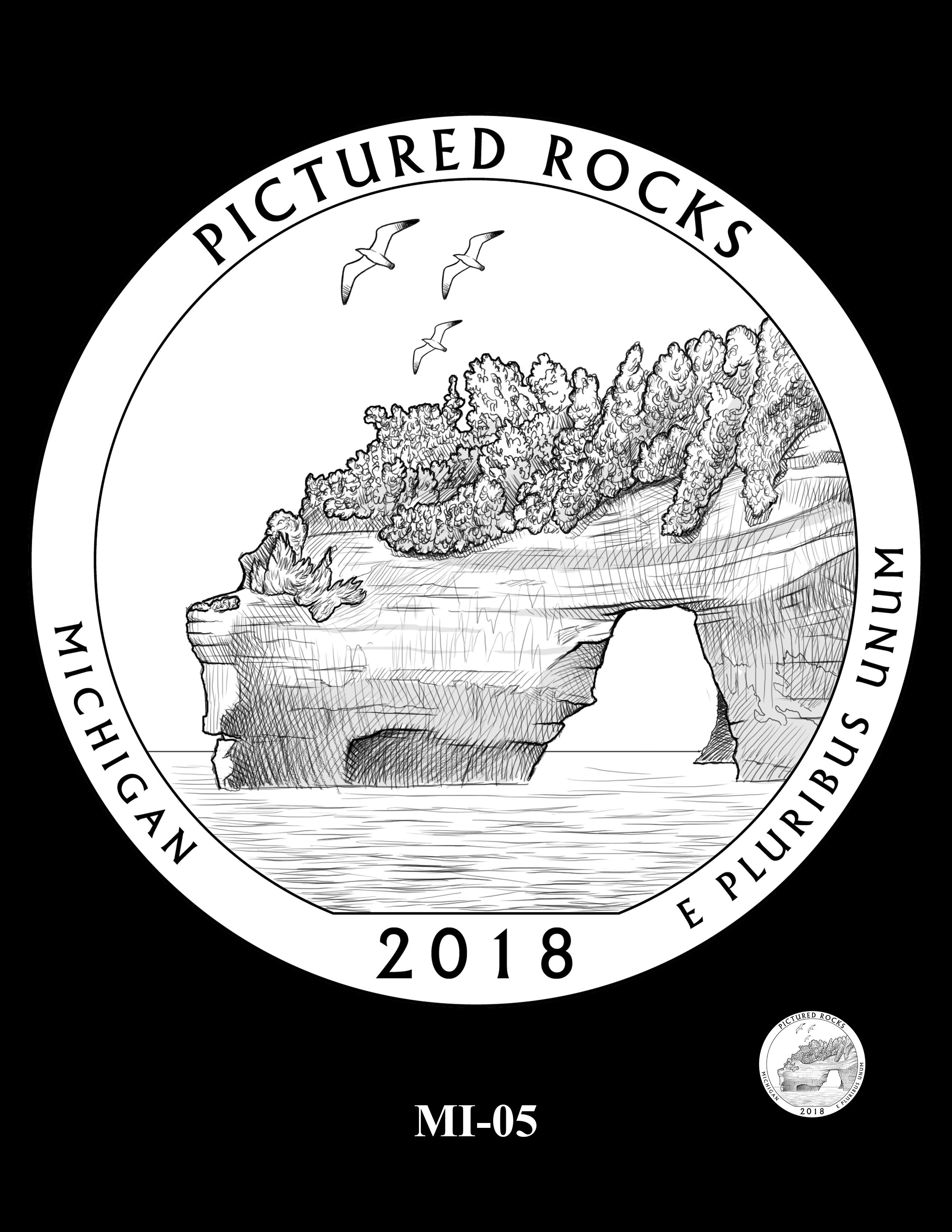 MI-05 -- 2018 America the Beautiful® Quarters Program