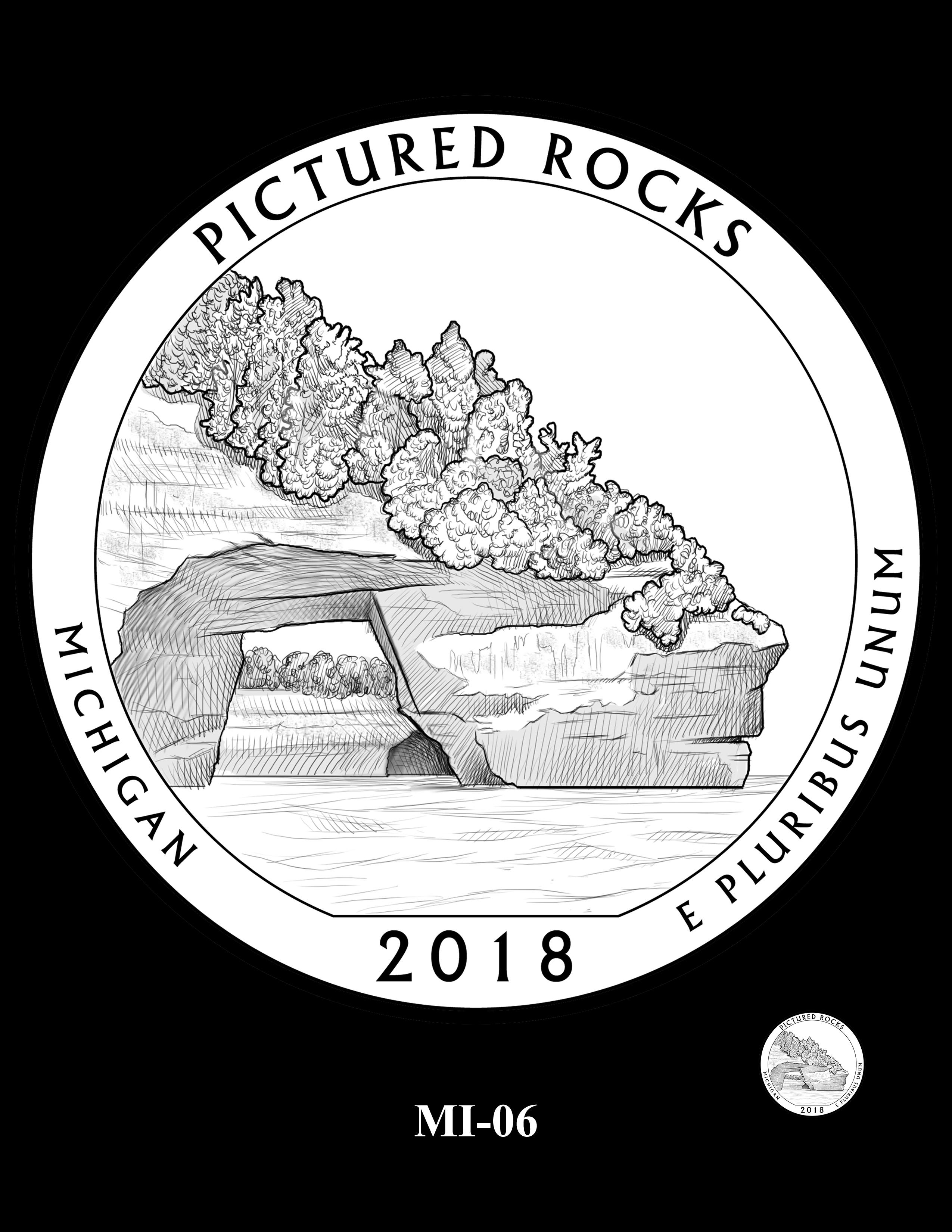 MI-06 -- 2018 America the Beautiful® Quarters Program