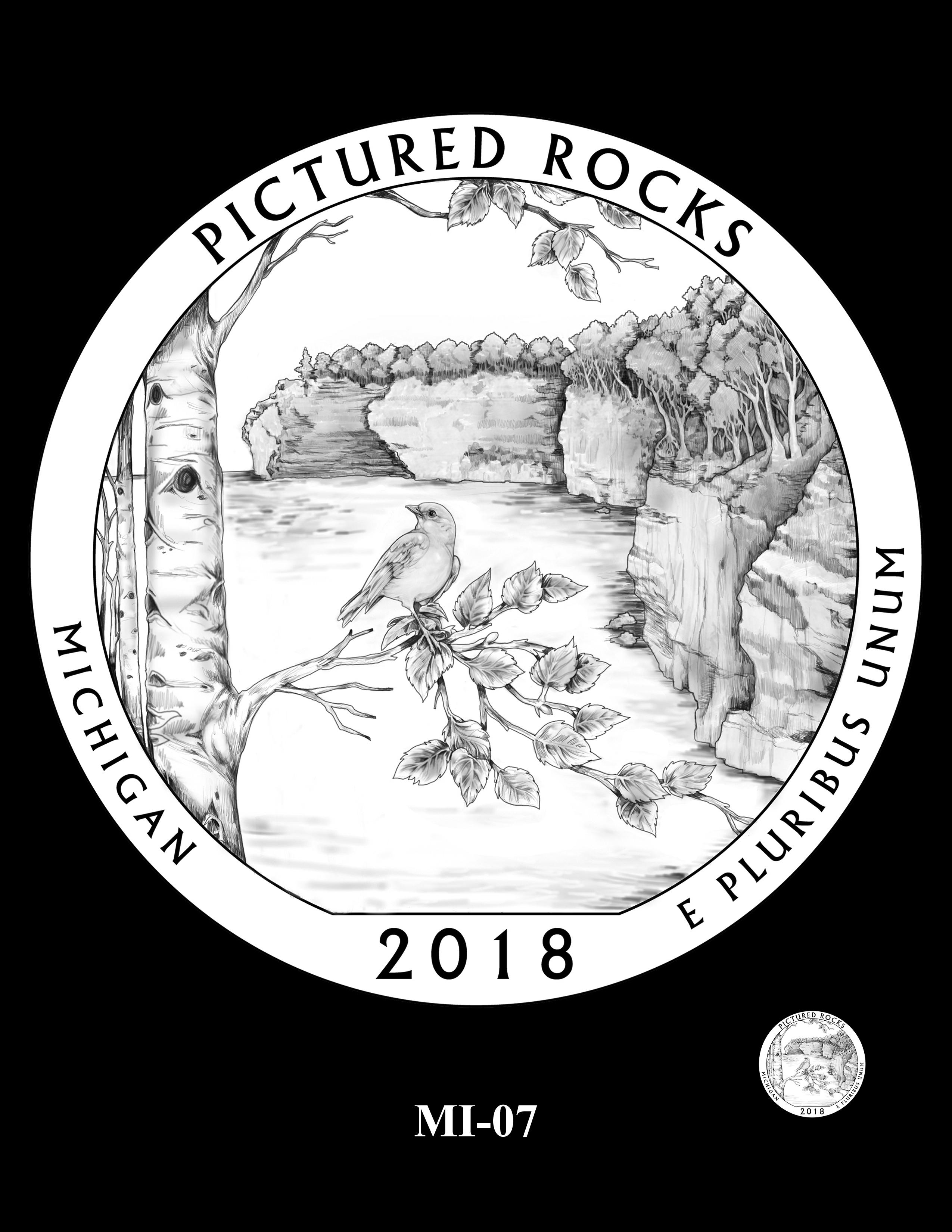 MI-07 -- 2018 America the Beautiful® Quarters Program