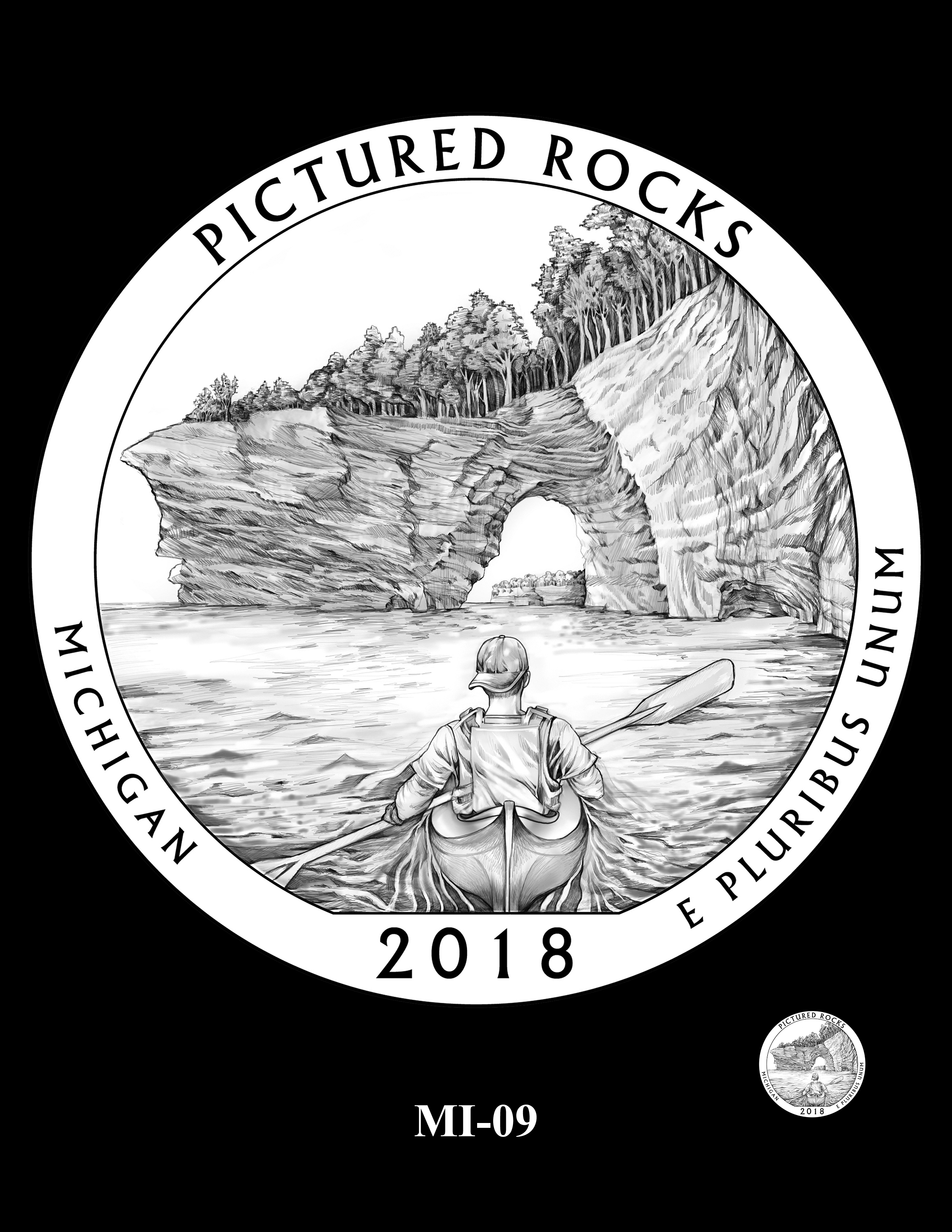 MI-09 -- 2018 America the Beautiful® Quarters Program