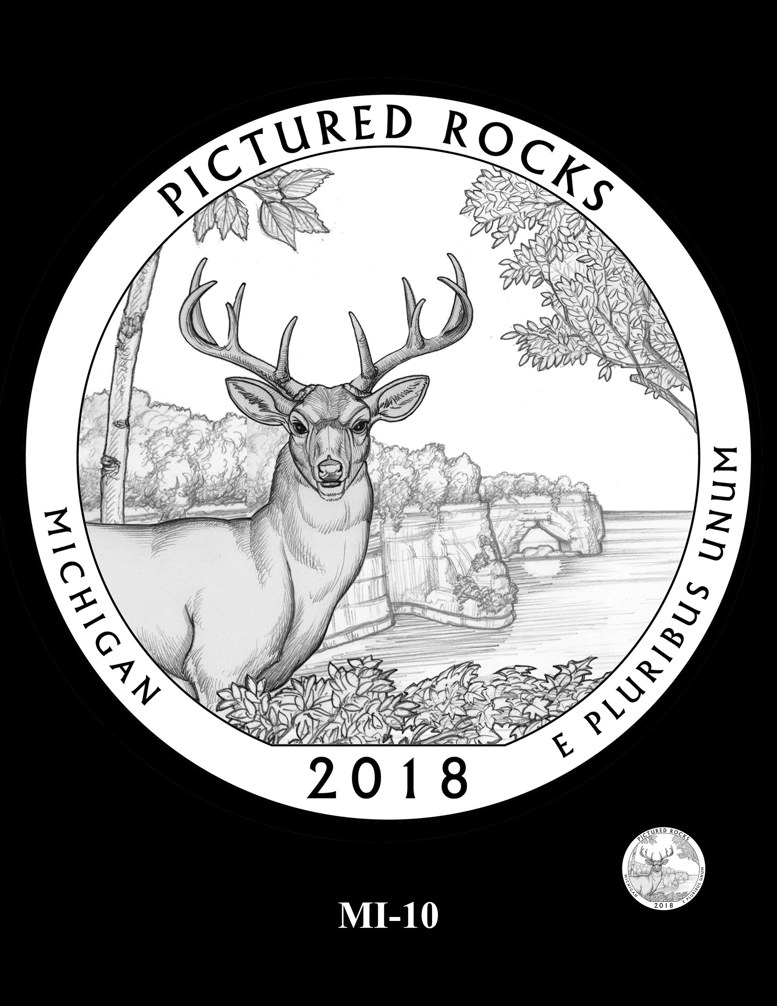 MI-10 -- 2018 America the Beautiful® Quarters Program