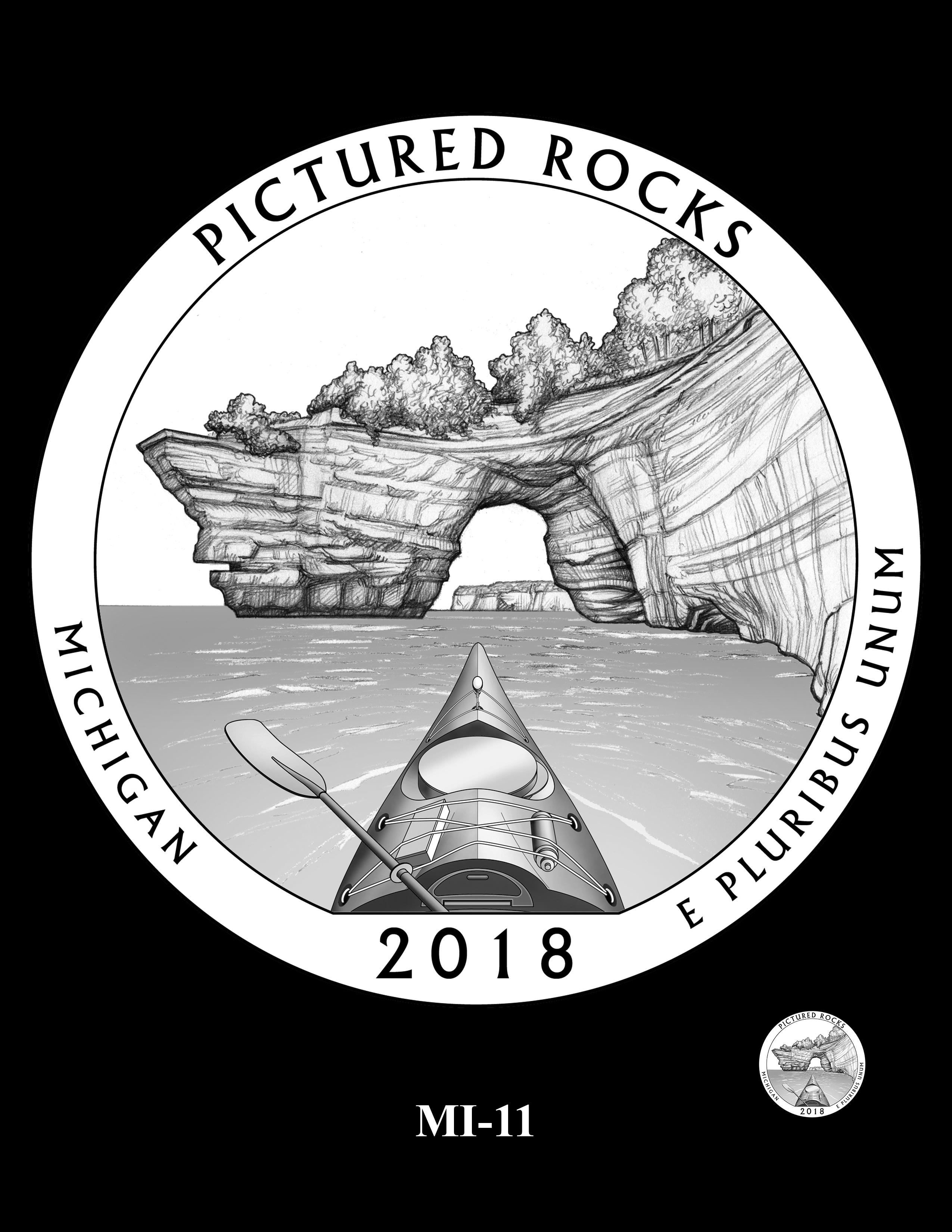 MI-11 -- 2018 America the Beautiful® Quarters Program