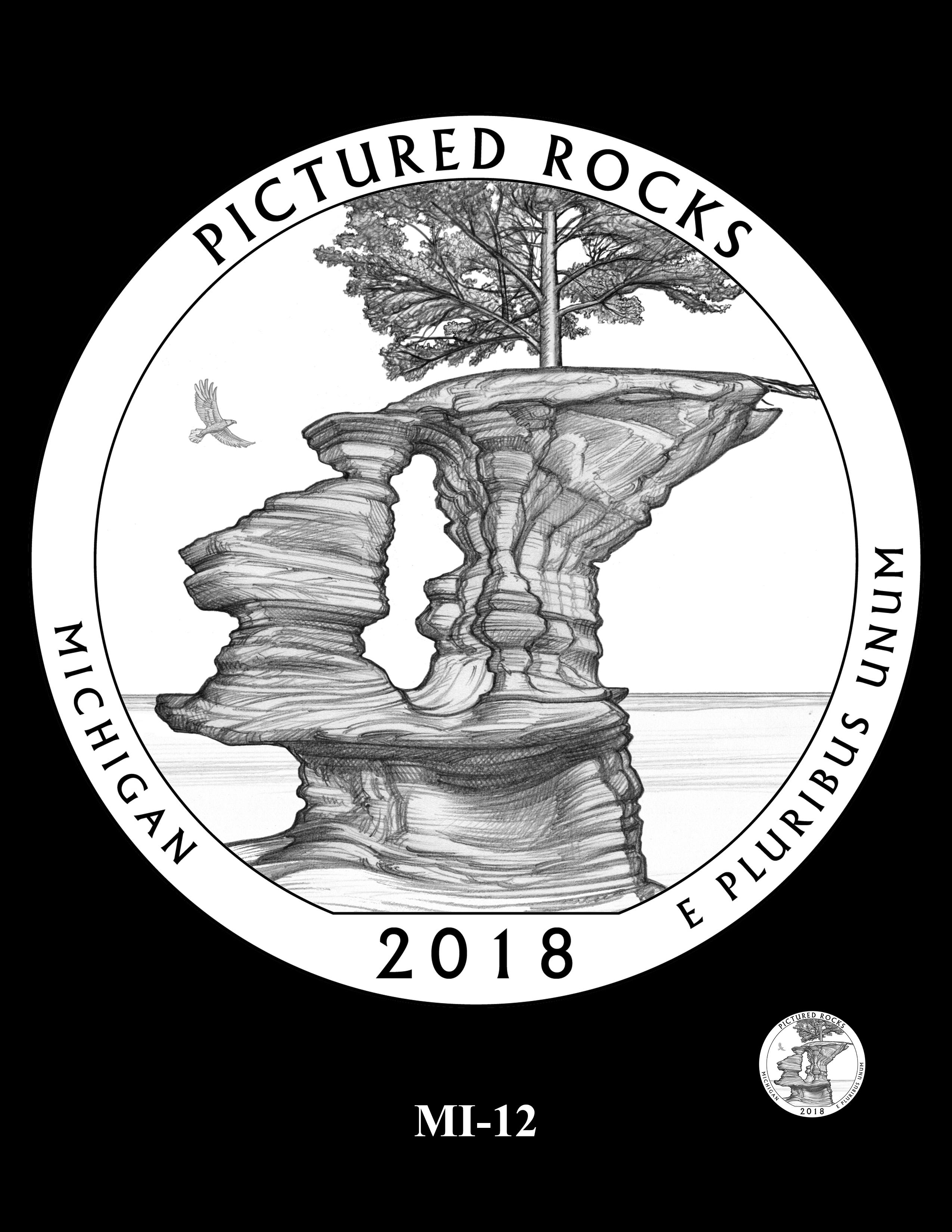 MI-12 -- 2018 America the Beautiful® Quarters Program