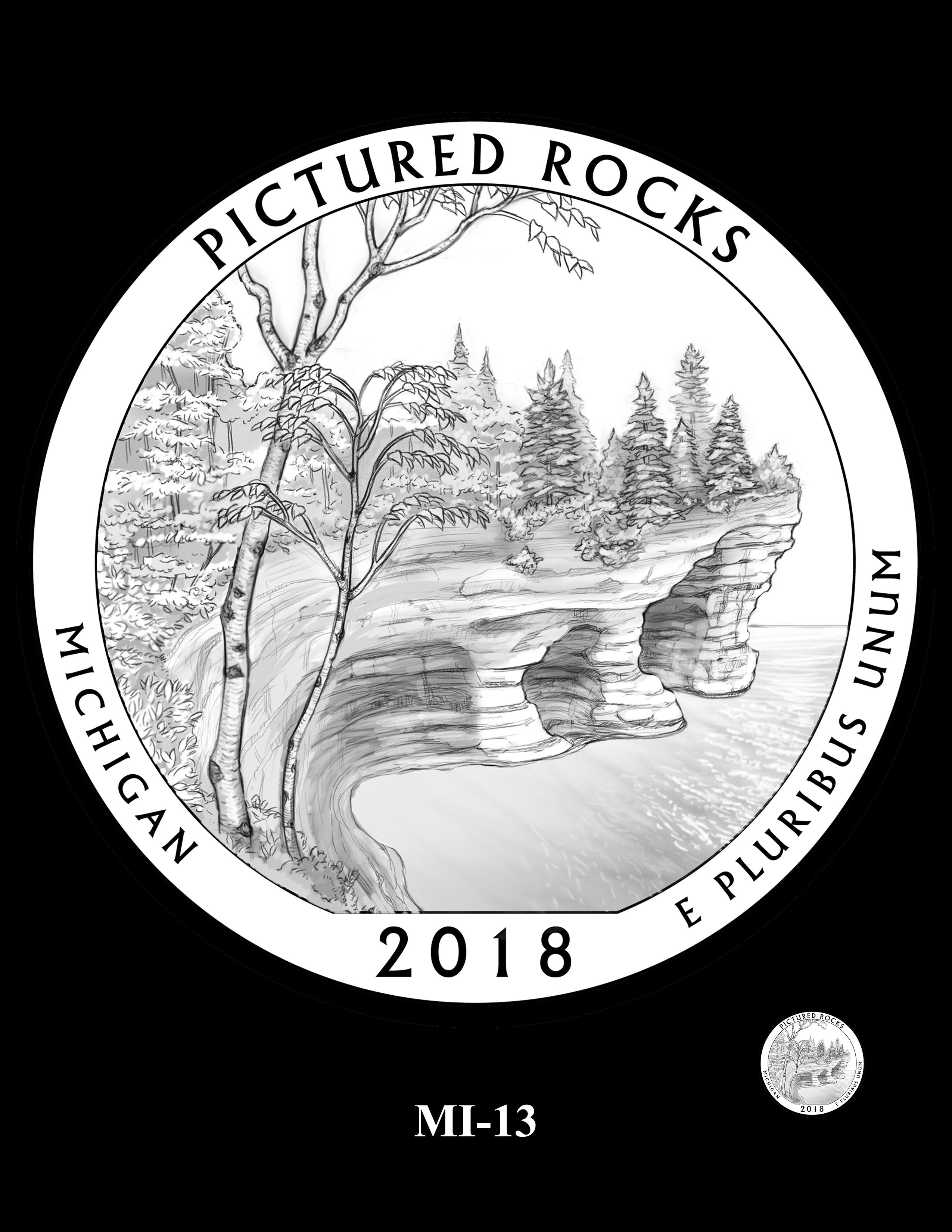 MI-13 -- 2018 America the Beautiful® Quarters Program