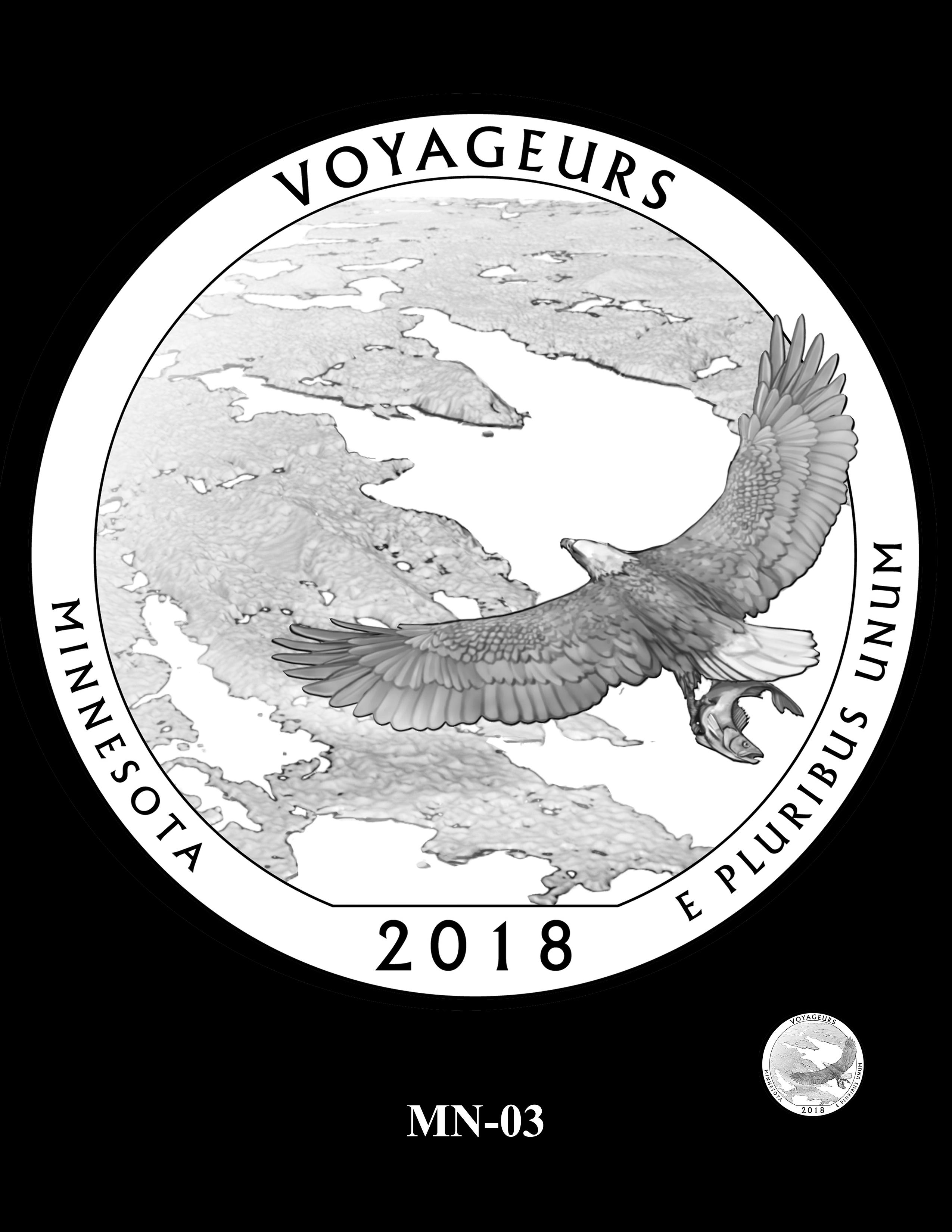 MN-03 -- 2018 America the Beautiful® Quarters Program