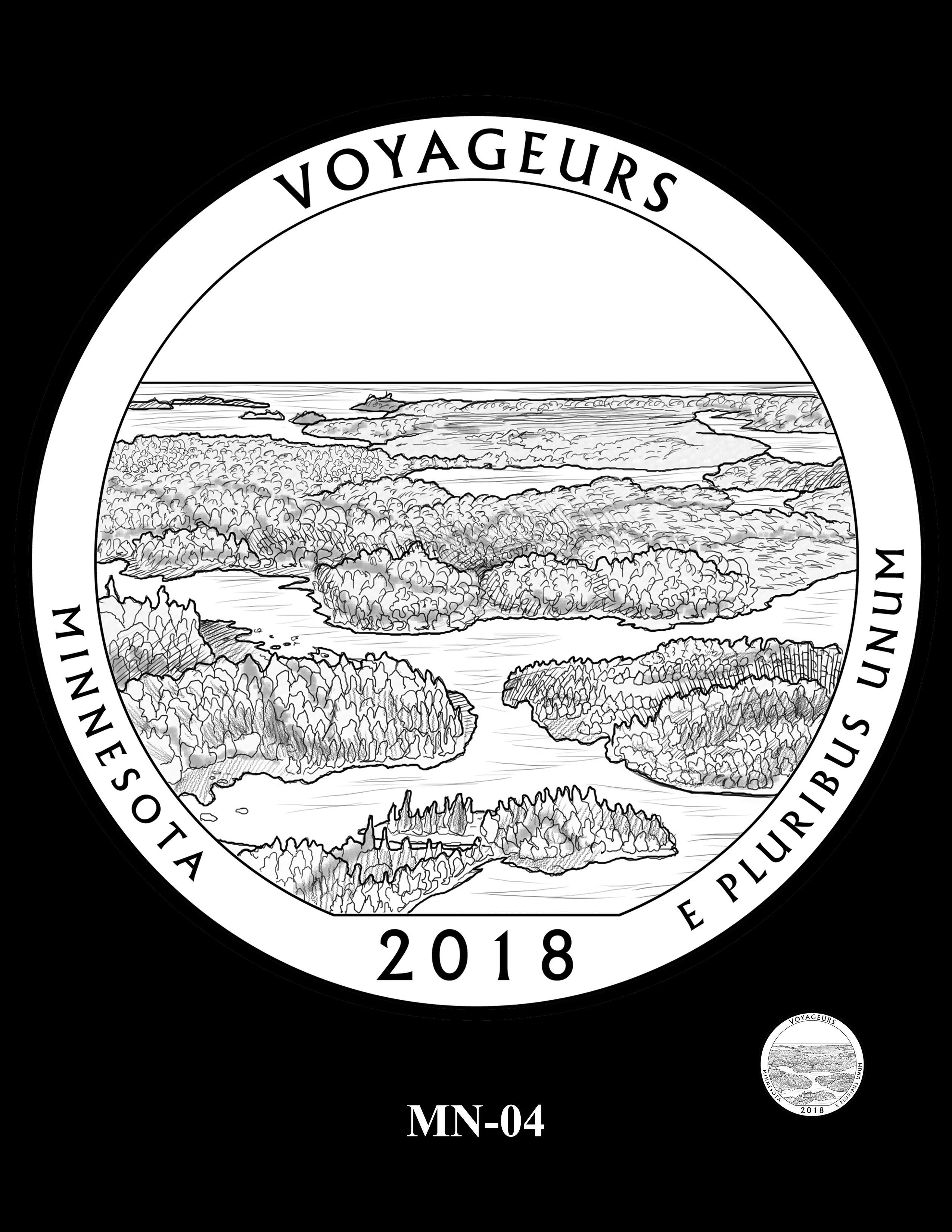 MN-04 -- 2018 America the Beautiful® Quarters Program