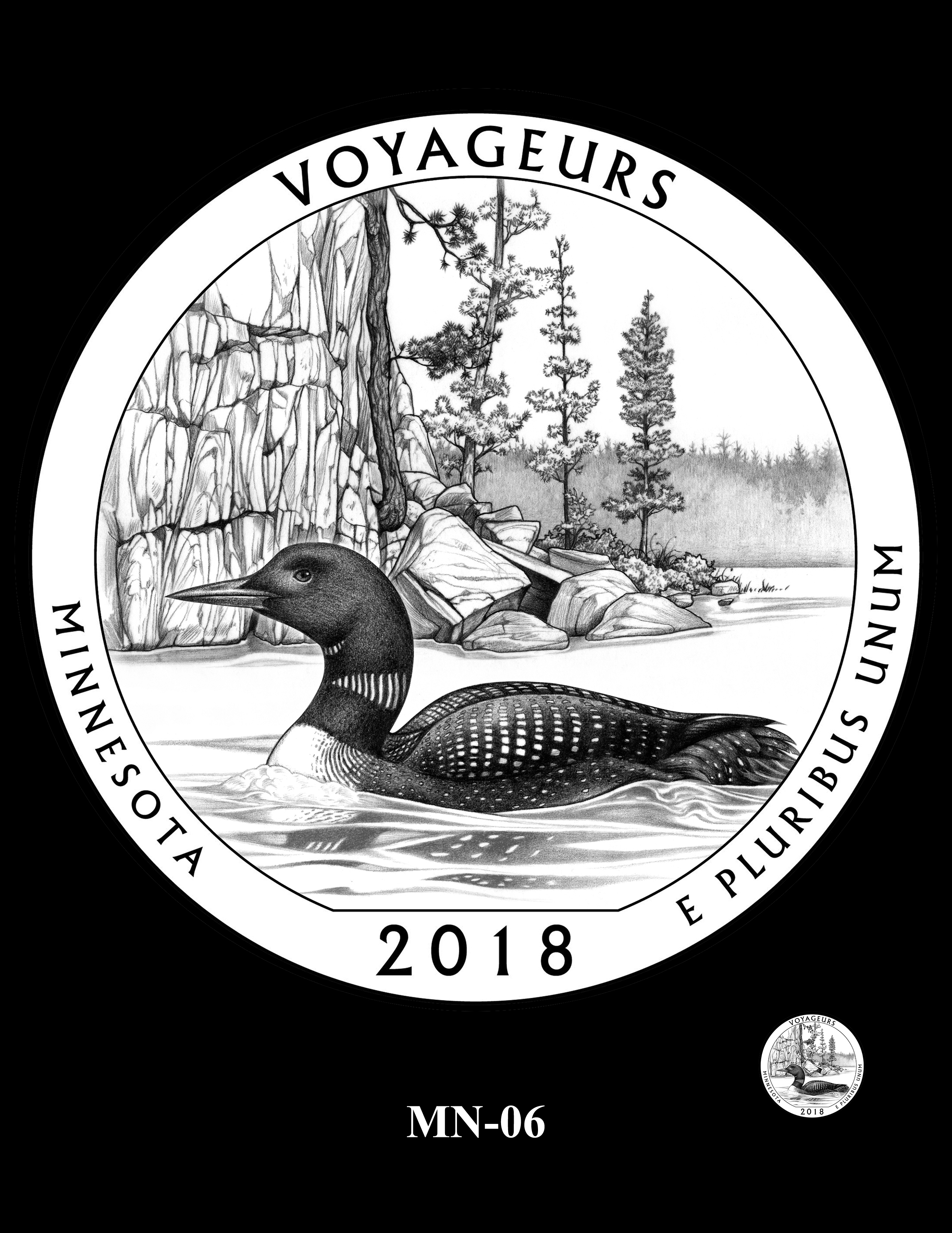 MN-06 -- 2018 America the Beautiful® Quarters Program