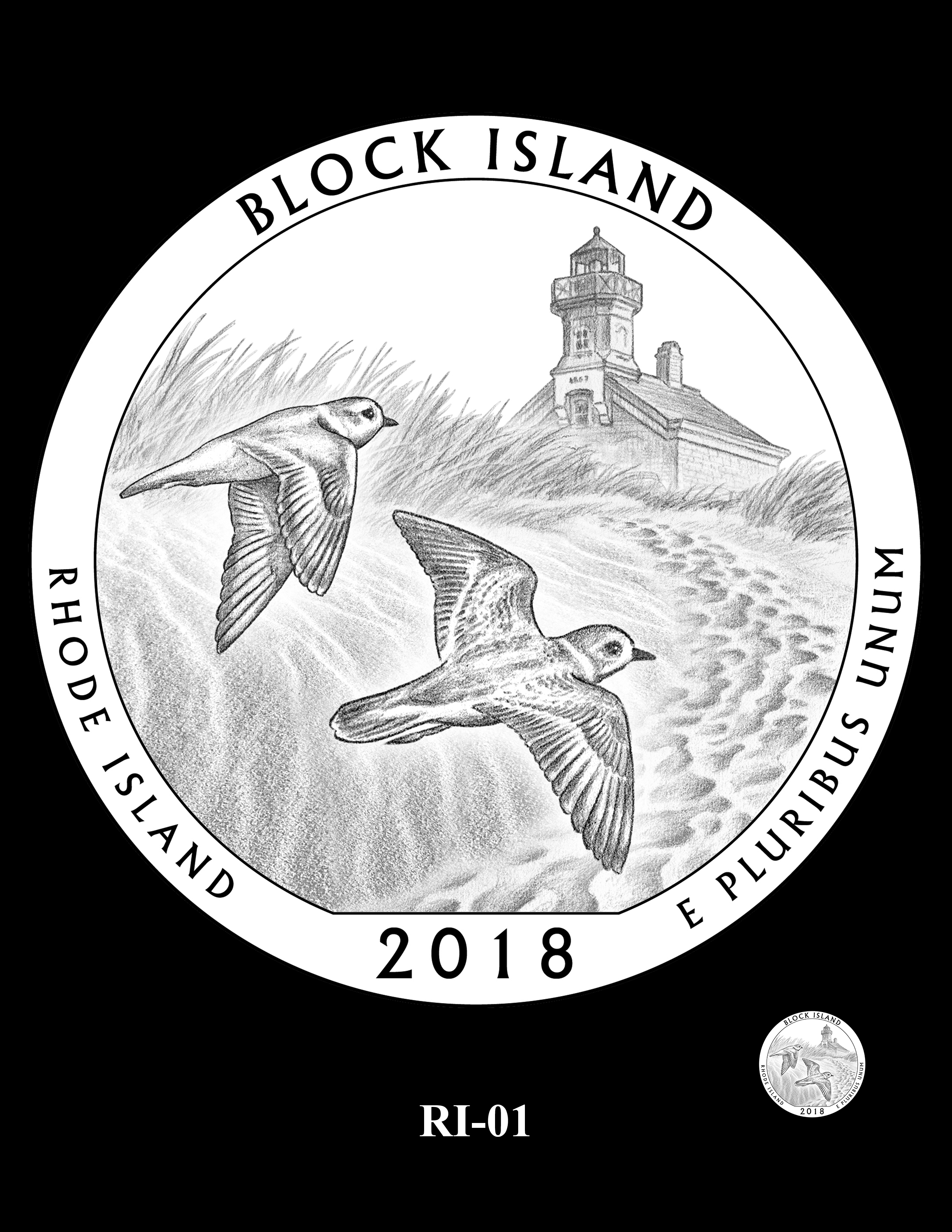 RI-01 -- 2018 America the Beautiful® Quarters Program