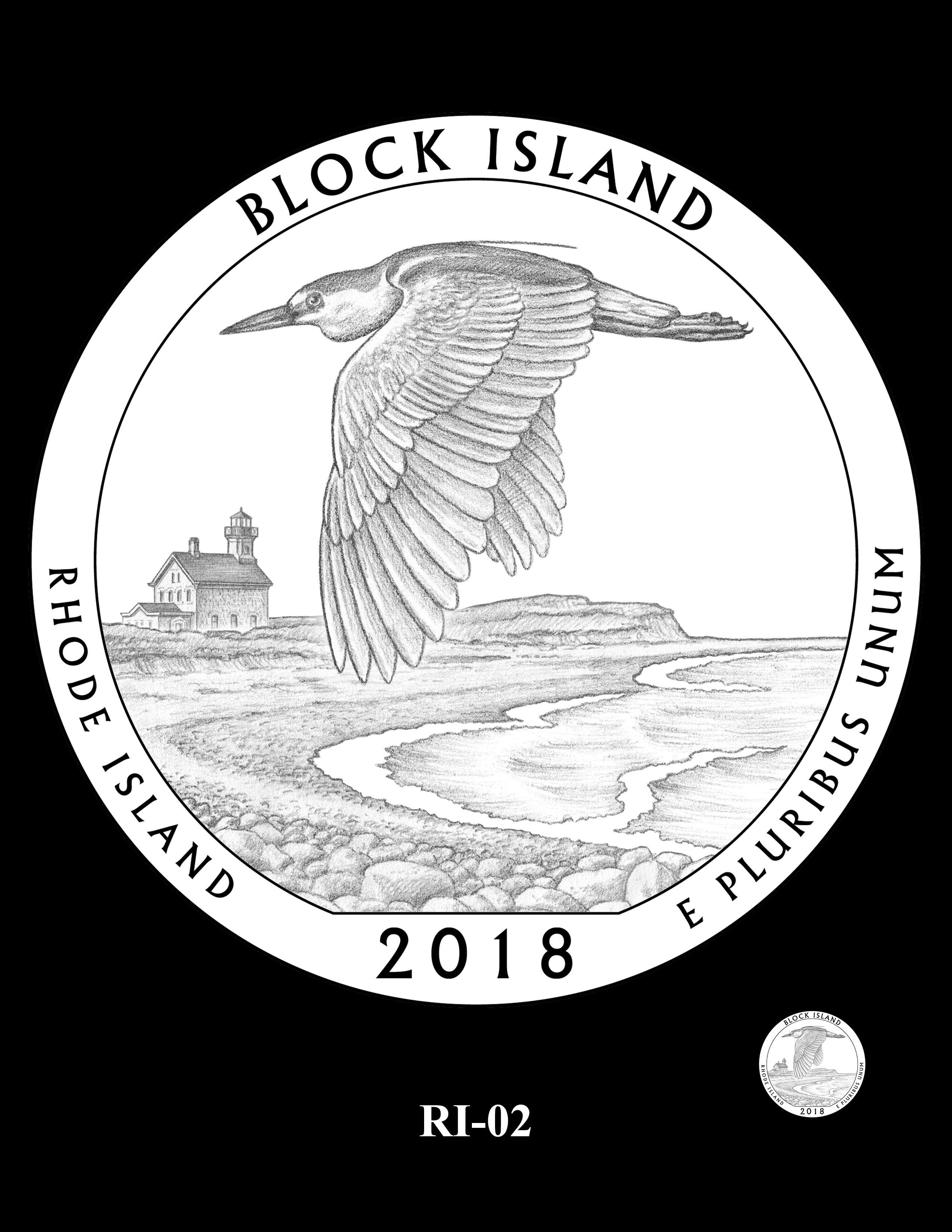 RI-02 -- 2018 America the Beautiful® Quarters Program