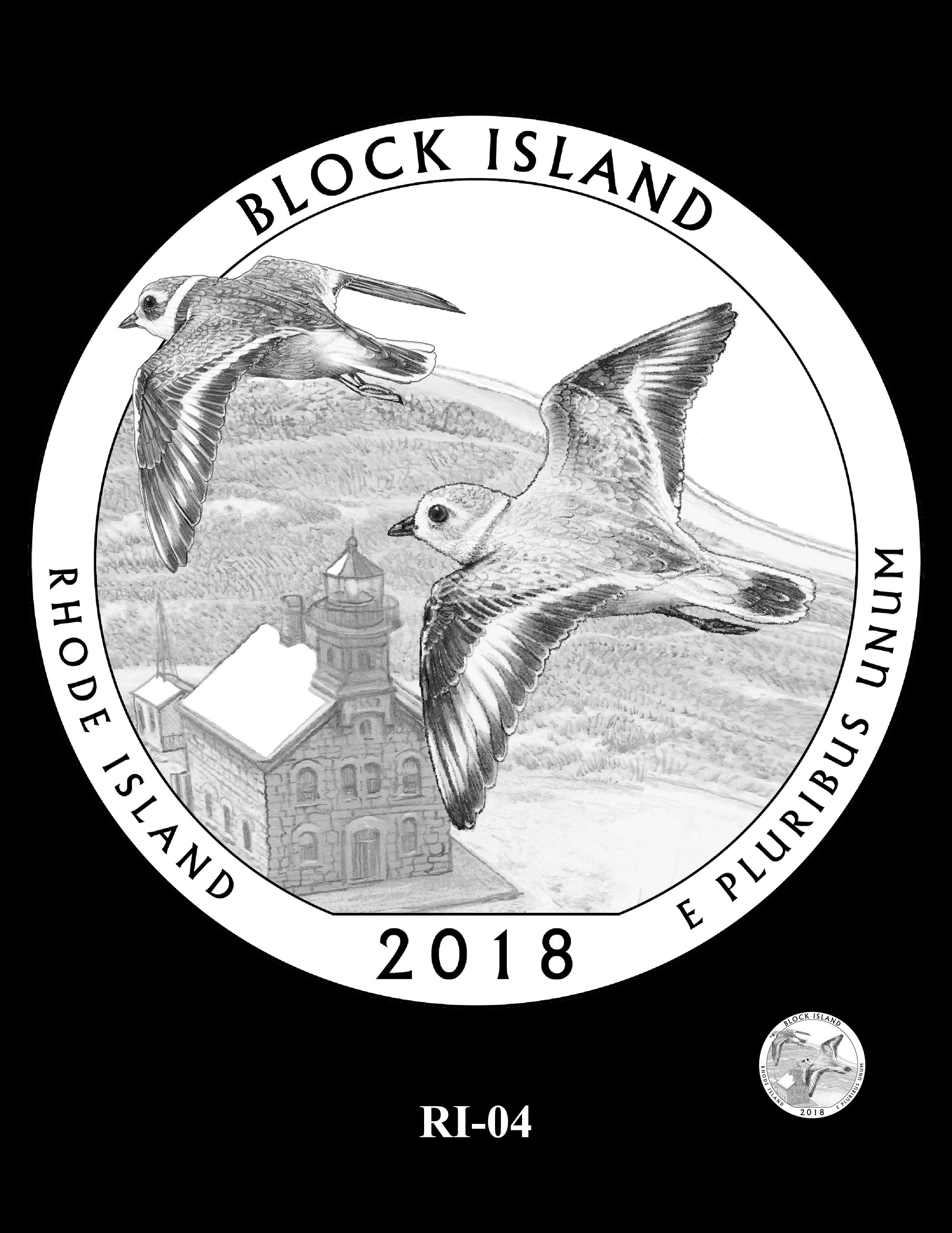 RI-04 -- 2018 America the Beautiful® Quarters Program