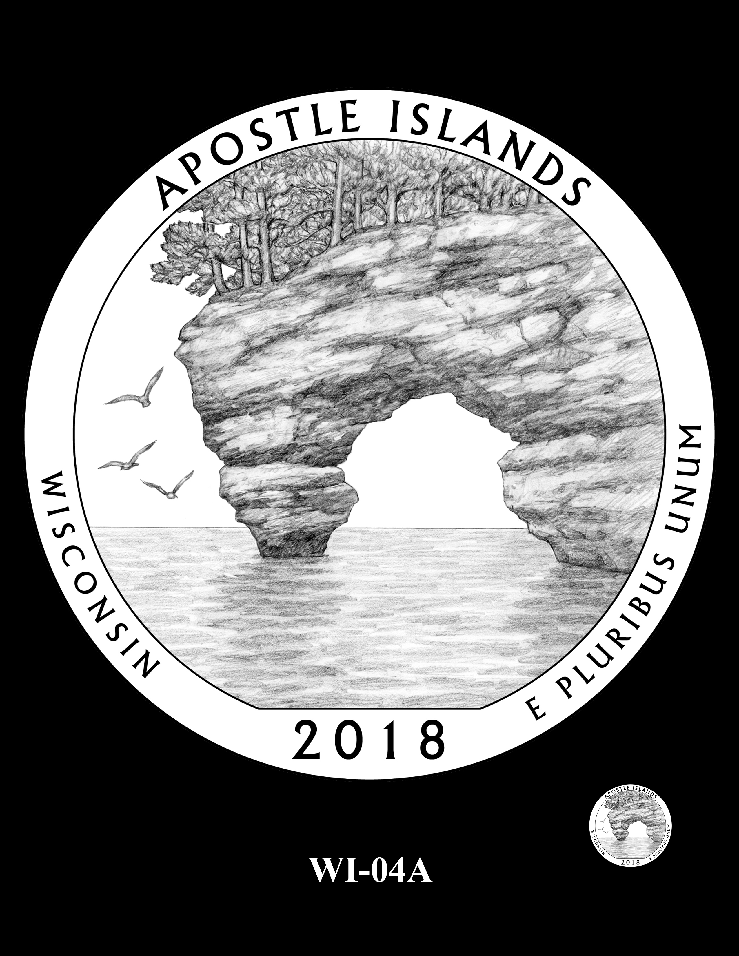 WI-04A -- 2018 America the Beautiful® Quarters Program