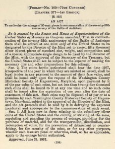 Historic Legislation, June 24, 1937. Full text is duplicated in the body of this page.