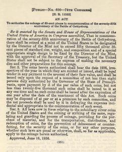 Historic Legislation, June 16, 1936. Full text is duplicated in the body of this page.