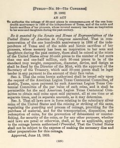 Historic Legislation, June 15, 1933. Full text is duplicated in the body of this page.