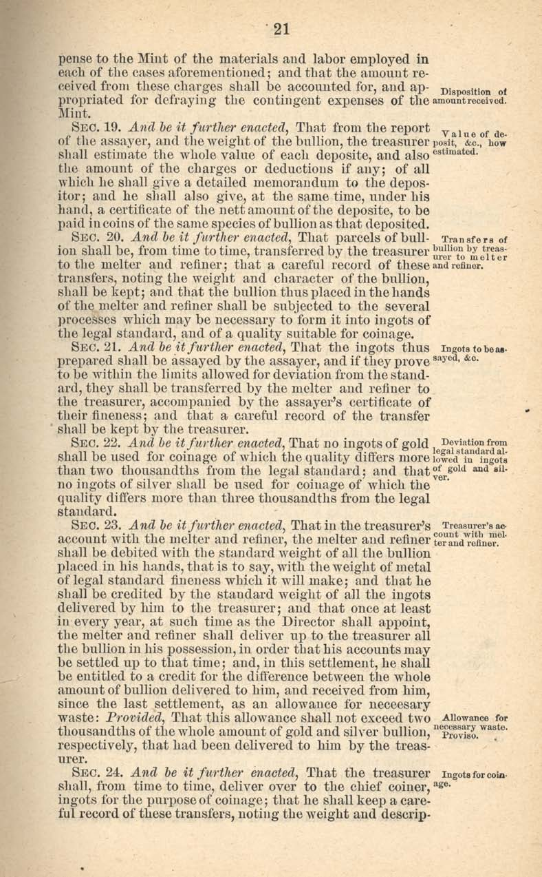Historic Legislation: Act of January 18, 1837, Page 5