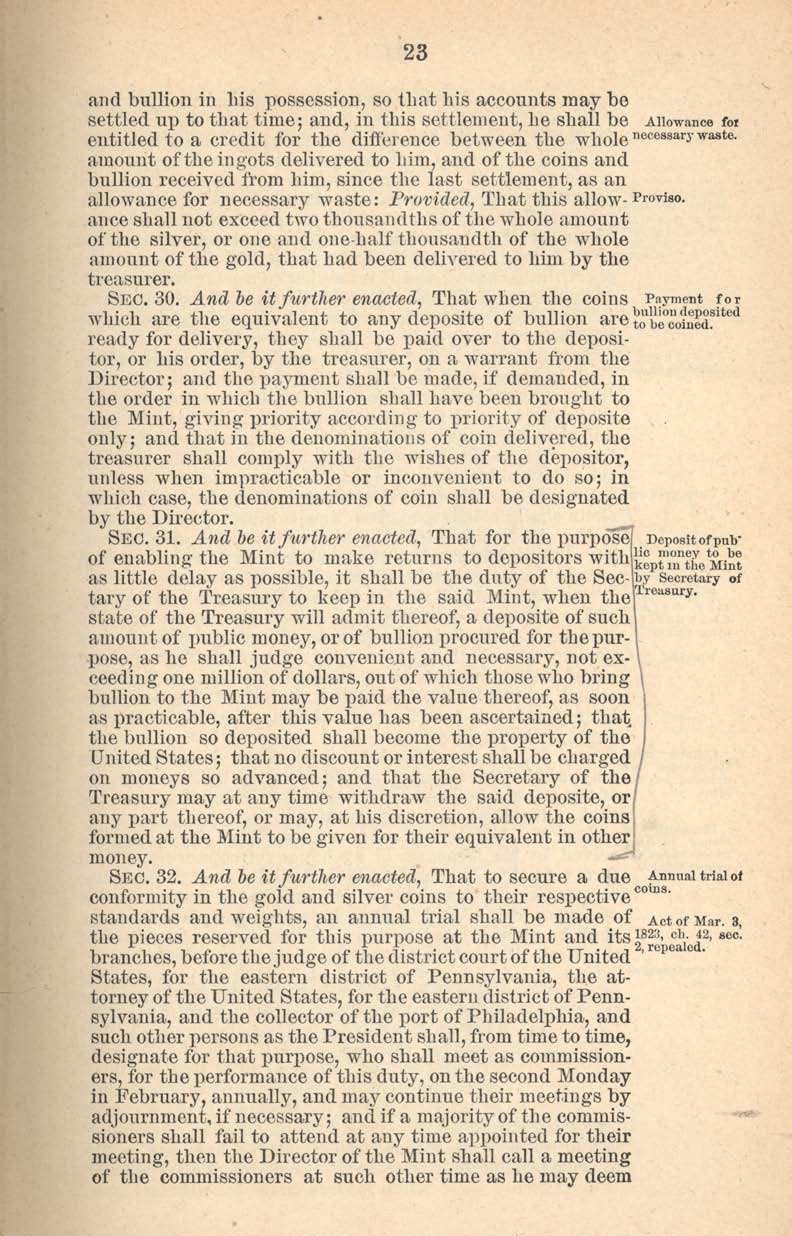 Historic Legislation: Act of January 18, 1837, Page 7
