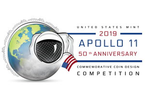 United States Mint 2019 Apollo 11 50th Anniversary Commemorative Coin Design Competition