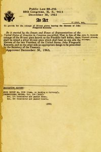 Historic Legislation, December 30, 1963. Full text is duplicated in the body of this page.