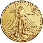 2017 American Eagle Gold One Ounce Uncirculated Coin Obverse