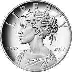 2017 American Liberty 225th Anniversary Silver Medal Obverse