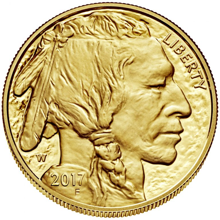 2017 American Buffalo One Ounce Gold Proof Coin Obverse